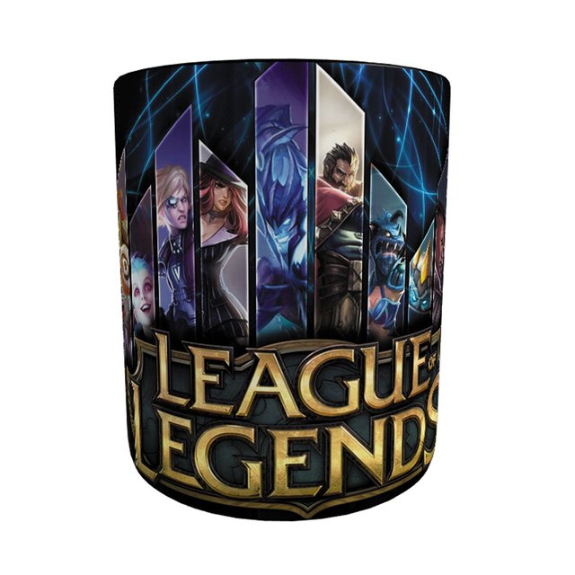 Imagem do Caneca League Of Legends com Alça e Interior Preto