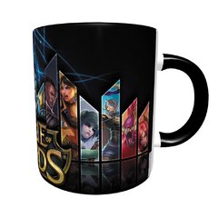 Caneca League Of Legends com Alça e Interior Preto