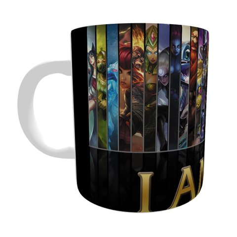 Caneca League Of Legends I Am Mid