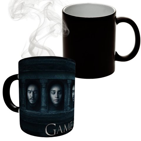 Caneca Mágica Game Of Thrones - Faces
