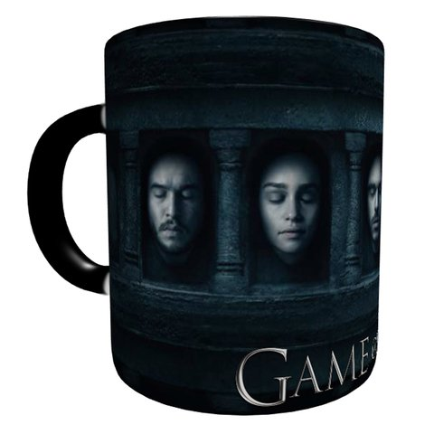 Caneca Mágica Game Of Thrones - Faces na internet