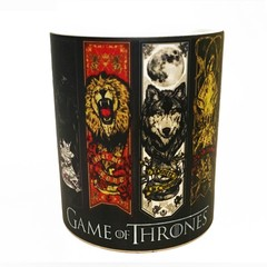 Caneca Mágica Game Of Thrones - Casas - comprar online