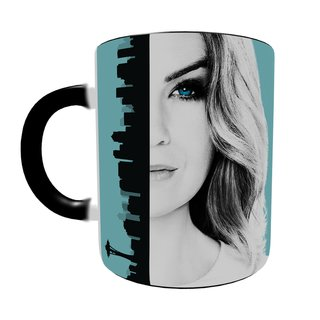 Caneca Mágica Grey's Anatomy - Meredith Grey na internet