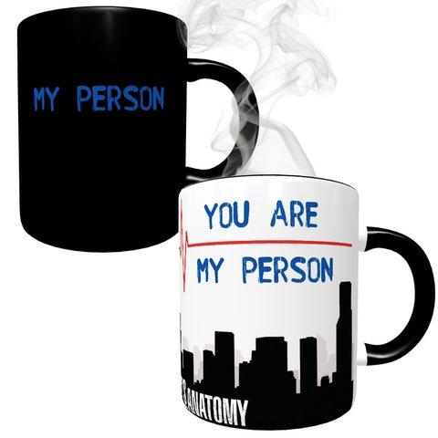 Caneca Mágica Grey's Anatomy - My Person