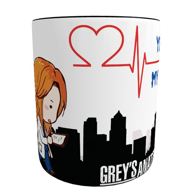 Caneca Mágica Grey's Anatomy - My Person - Novittas - Presentes Personalizados