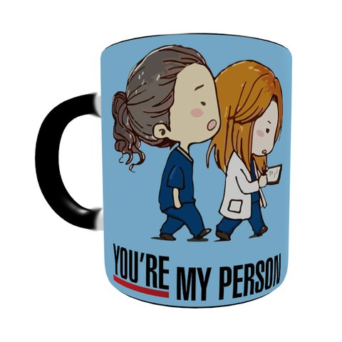 Caneca Mágica Grey's Anatomy - You're My Person na internet