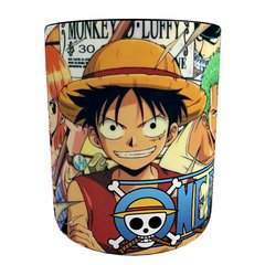 Caneca Mágica One Piece - Piratas do Chapéu de Palha na internet