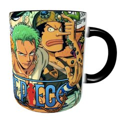Caneca Mágica One Piece - Piratas do Chapéu de Palha - Novittas - Presentes Criativos