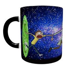 Caneca Mágica Rick and Morty - Portal - Novittas - Presentes Criativos