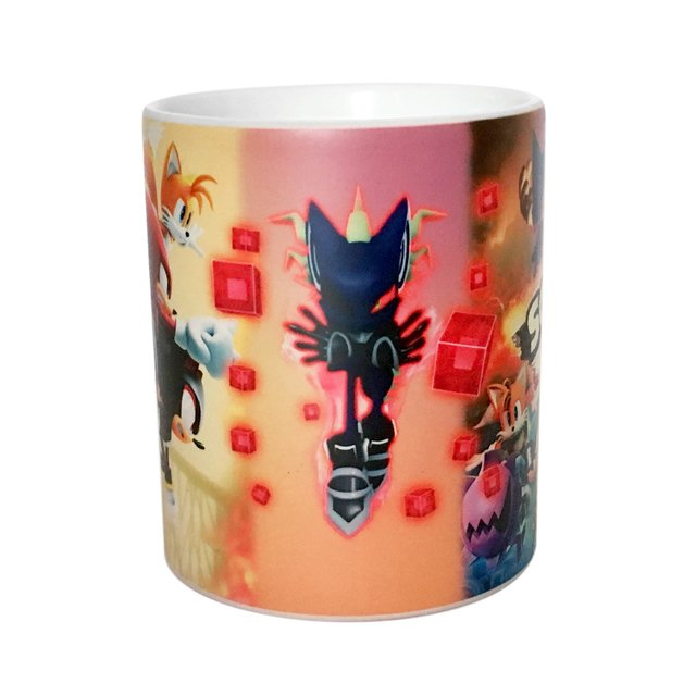 Caneca Mágica Sonic Forces - loja online