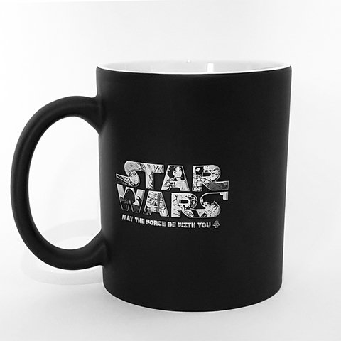 Caneca Mágica Star Wars May the Force