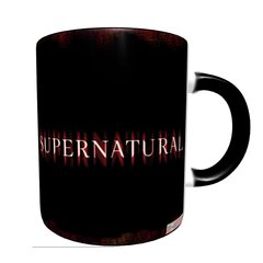 Caneca Mágica Supernatural Fire - Novittas - Presentes Criativos