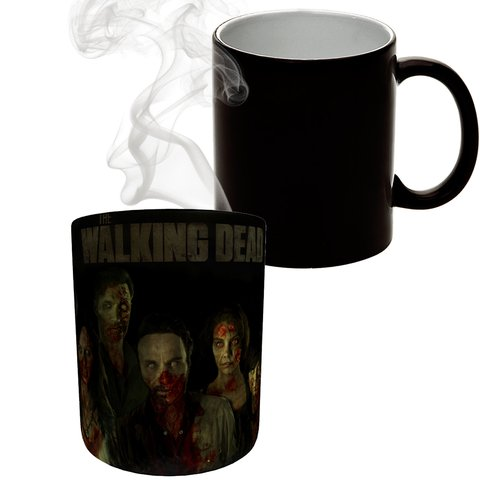 Caneca Mágica The Walking Dead - Dark