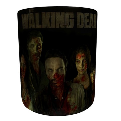 Caneca Mágica The Walking Dead - Dark - Novittas - Presentes Personalizados
