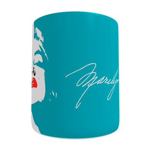 Caneca Marilyn Monroe Pop Art na internet