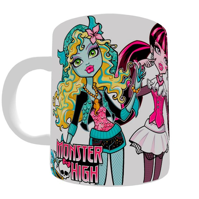 Caneca Monster High na internet