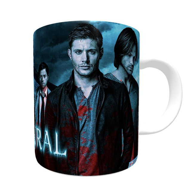 Caneca Supernatural - Join the Hunt - Novittas - Presentes Personalizados