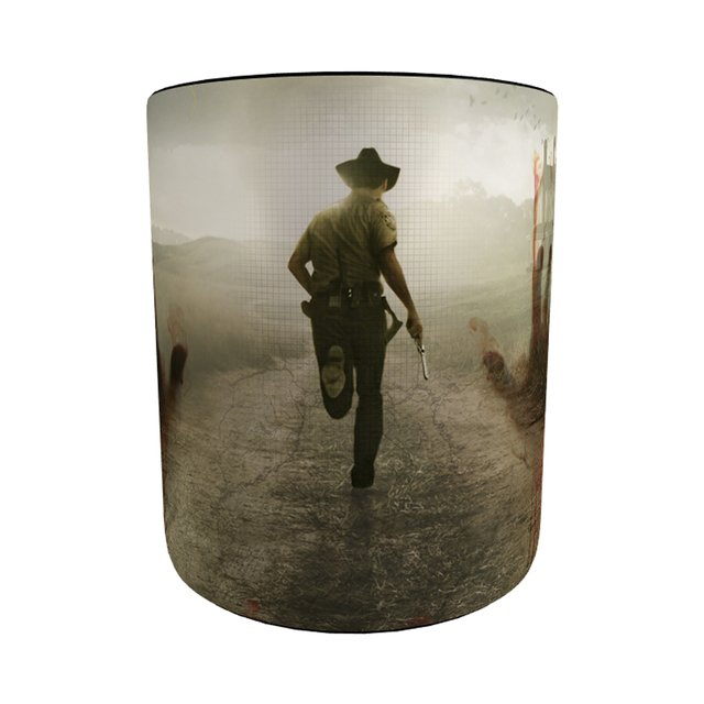 Caneca The Walking Dead - Action com Alça e Interior Preto - comprar online