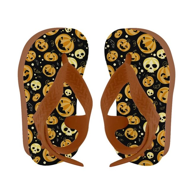 Chinelo Baby Happy Halloween - Cores
