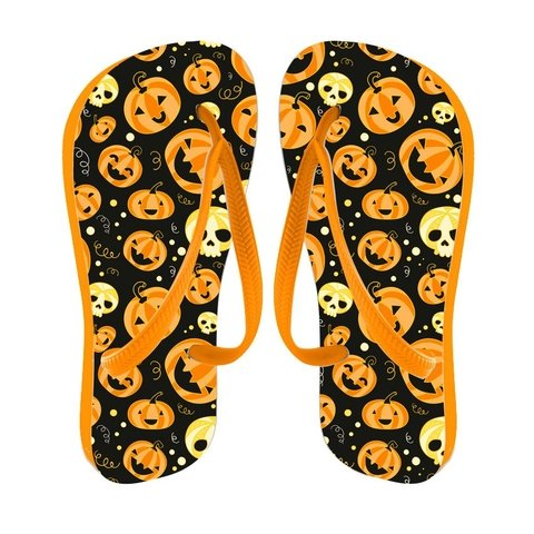 Chinelo Infantil Halloween - Cores