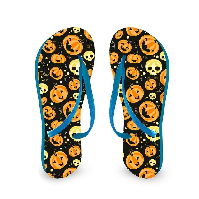 Chinelo Tira Slim Halloween - Cores na internet