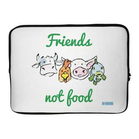 Capa para Notebook - Friens Not Food