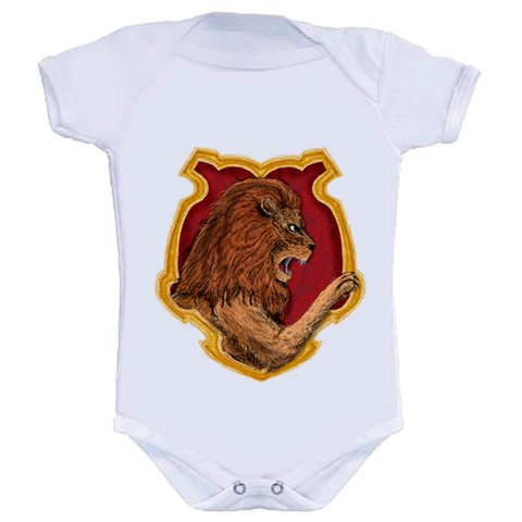 Body Infantil Harry Potter - Grifinória