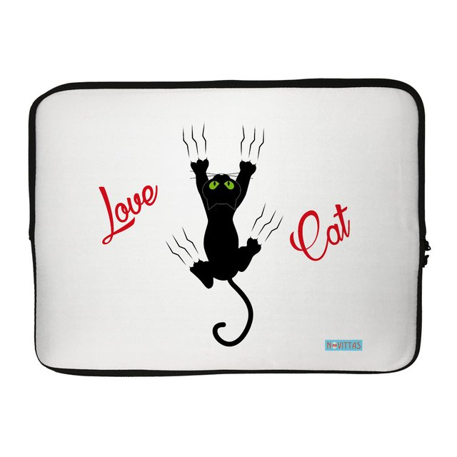 Capa para Notebook - Love Cat
