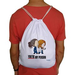 Sacochila Grey's Anatomy You're My Person - comprar online
