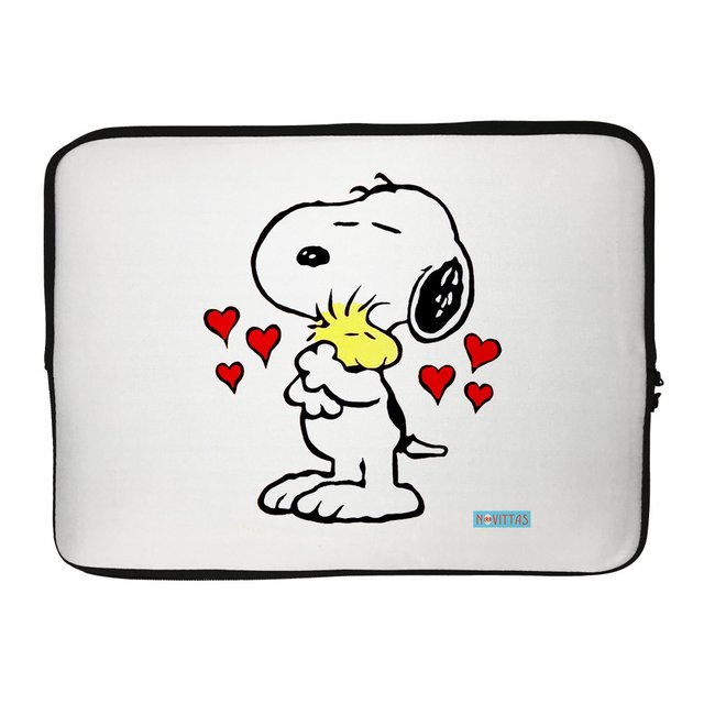 Capa para Notebook Snoopy Love
