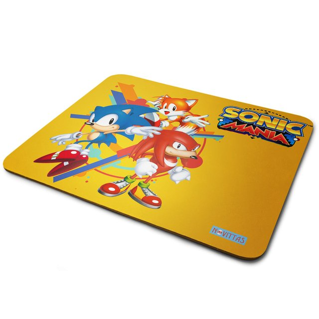 Mouse Pad Sonic Mania na internet