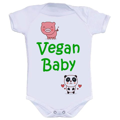Body Infantil Vegan Baby