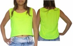 Regata Cropped Feminina Dry fit - Verde