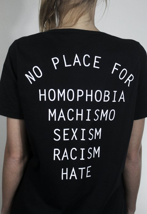 Camiseta NoHate Black