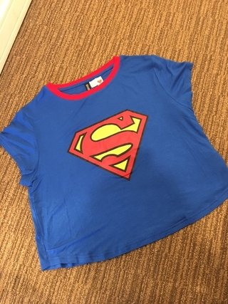 Remera superman H&M