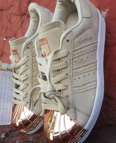 Zapatillas adidas metal gold