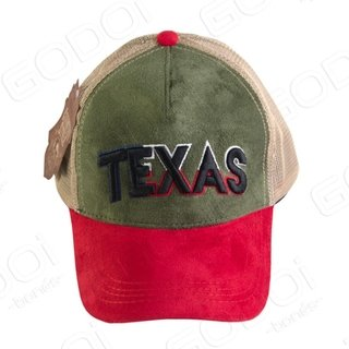 BONÉ ABA CURVA COUNTRY STYLE - TRUCKER - TEXAS
