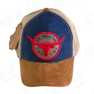 BONÉ ABA CURVA COUNTRY STYLE - TRUCKER - ZIPO COLLECTION