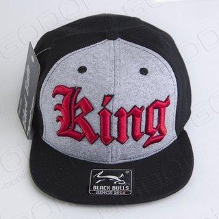 BONÉ ABA RETA BLACK BULLS KING c3290a63842
