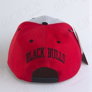BONÉ ABA RETA BLACK BULLS NEW YORK RED na internet