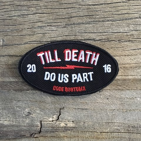 Iron Patch Till Death Do Us Part - comprar online