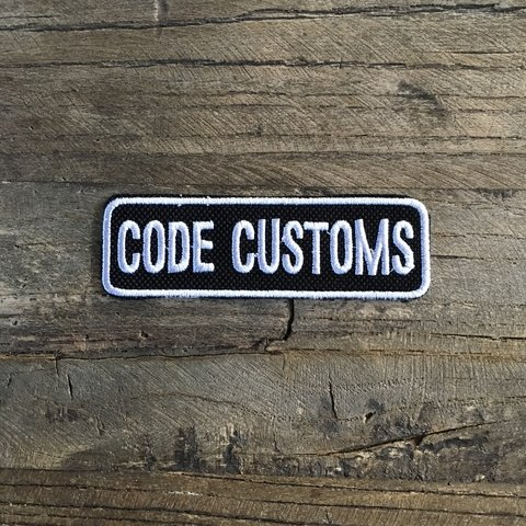 Iron Patch Code Customs Crew - comprar online