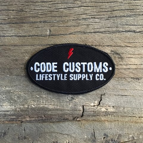 Iron Patch Code Customs LSSCo - comprar online