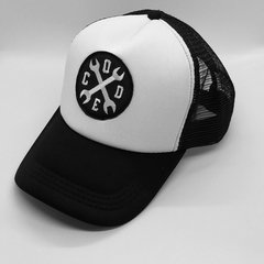 Gorra Trucker Wrench Code Patch BW - comprar online
