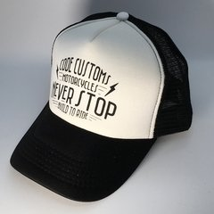 Gorra Trucker Never Stop Build to Run - comprar online