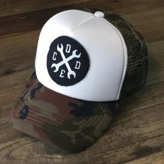 Gorra Trucker Wrench Code Patch BWG