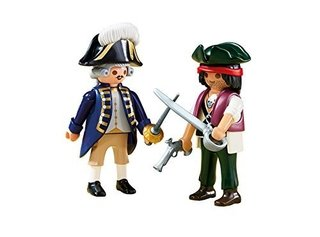 Playmobil Pirata y Soldado Pack Duo