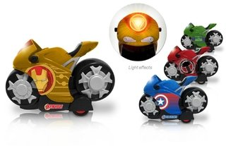 Moto a friccion con luces Avengers Toy Maker