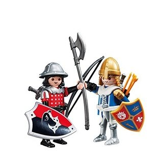 Playmobil Knights Duo Pack Caballero 5166