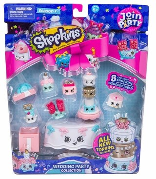 Shopkins Blister Join The Party Princess Wedding Collection